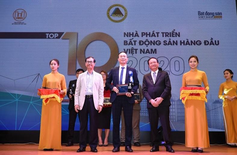 Văn Phú - Invest nhận giải Top 10 nhà phát triển bất động sản hàng đầu Việt Nam