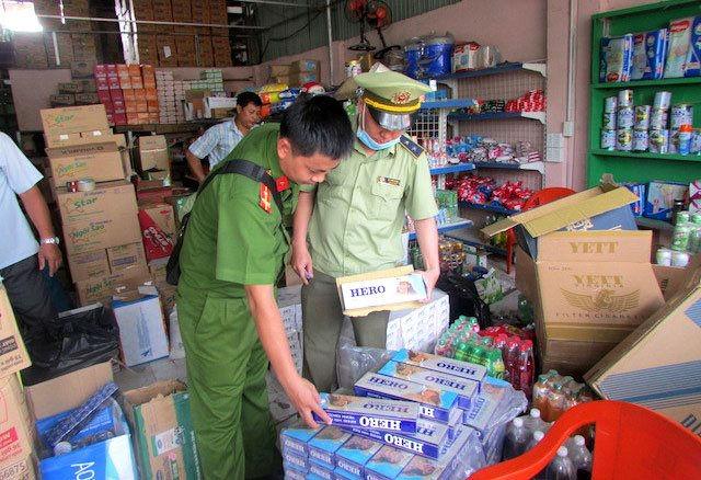 Tình trạng buôn lậu thuốc lá vẫn diễn ra nhức nhối tại nhiều địa phương