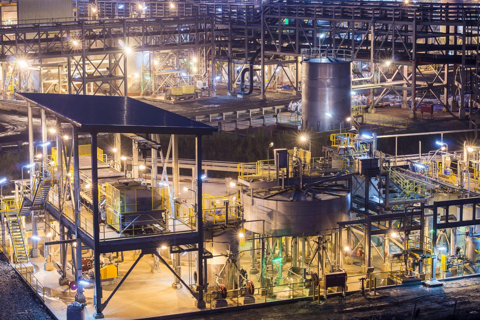 Dây chuyền nhà máy hiện đại của Masan High-Tech Materials tại Việt Nam