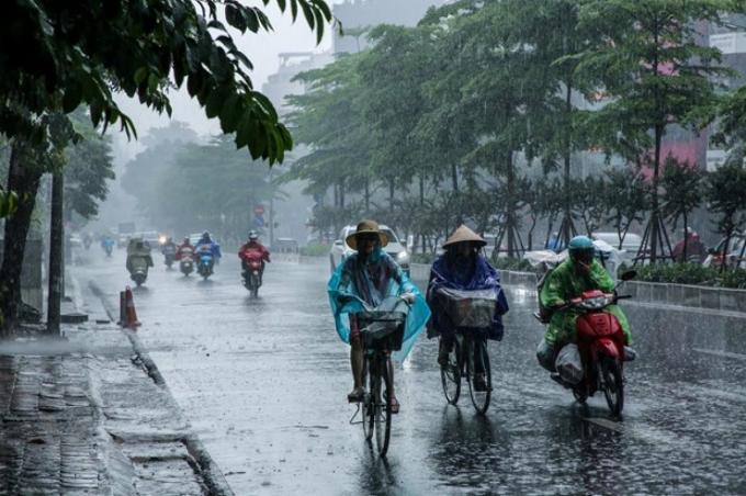 Bắc Bộ, Bắc Trung Bộ mưa lớn và cảnh báo lốc, sét, mưa đá, gió giật mạnh