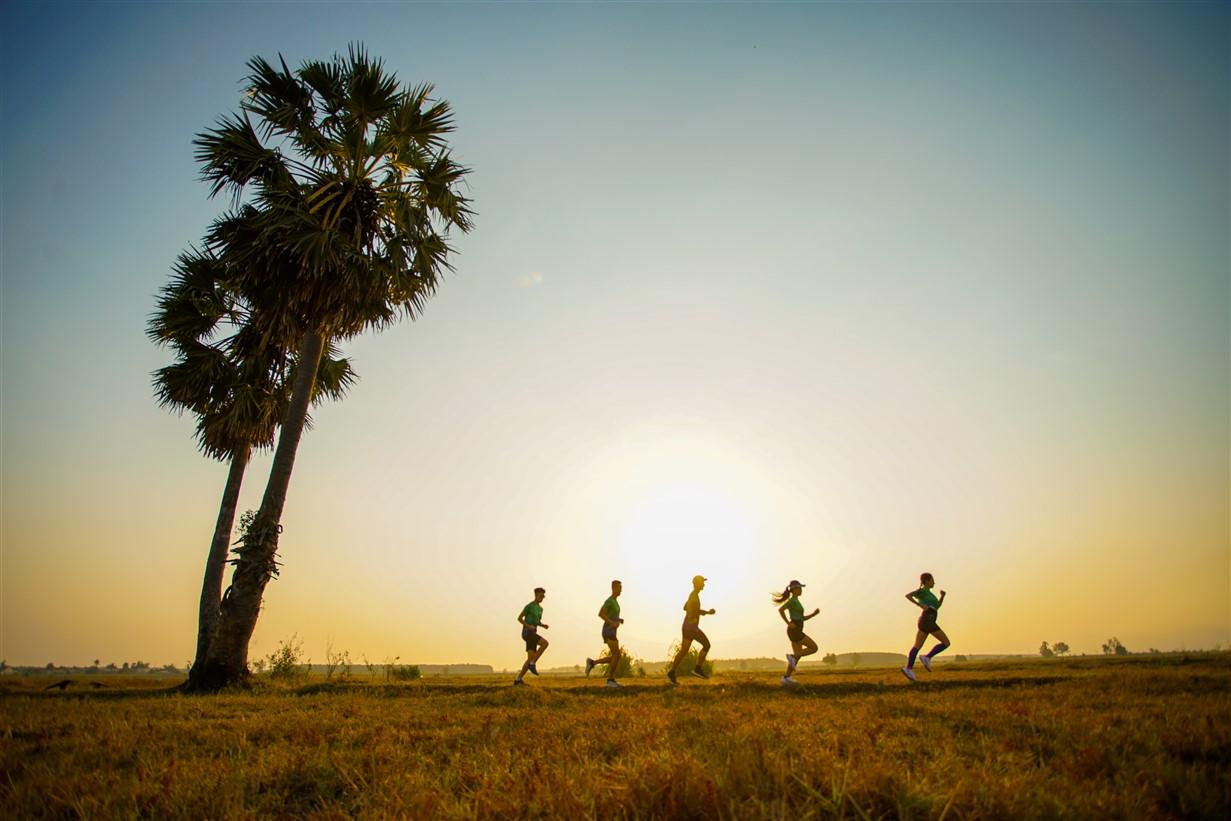 Giải chạy DaBen trên cung đường tuyệt đẹp của Tây Ninh