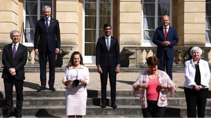 Nhóm 7 bộ trưởng tài chính G-7 đã đạt được thỏa thuận cải cách hệ thống thuế toàn cầu tại cuộc họp của họ ở London