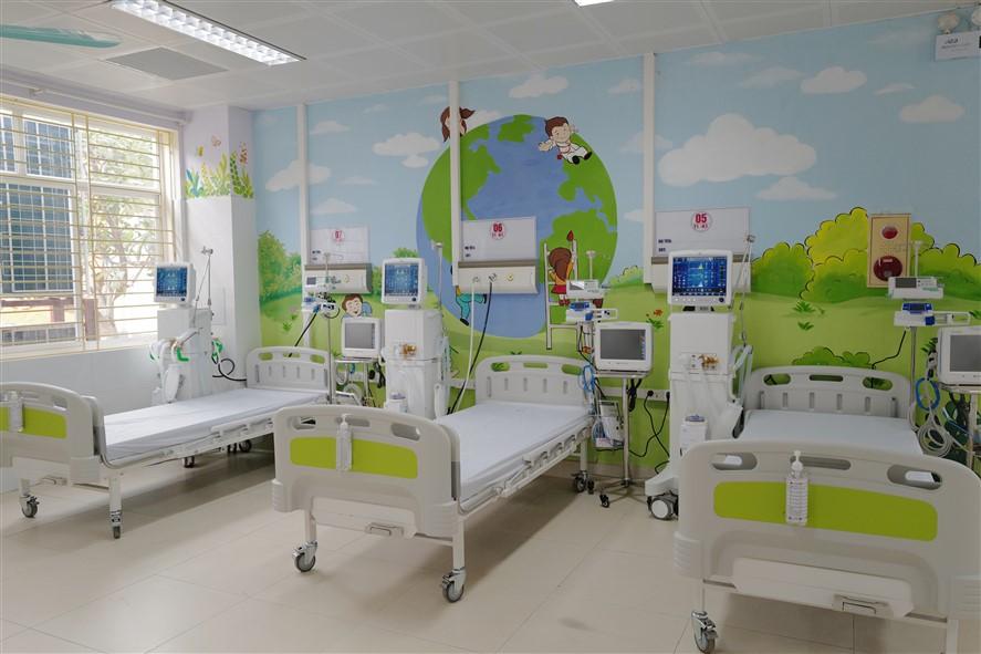 Bên trong ICU tại BVĐK Bắc Ninh