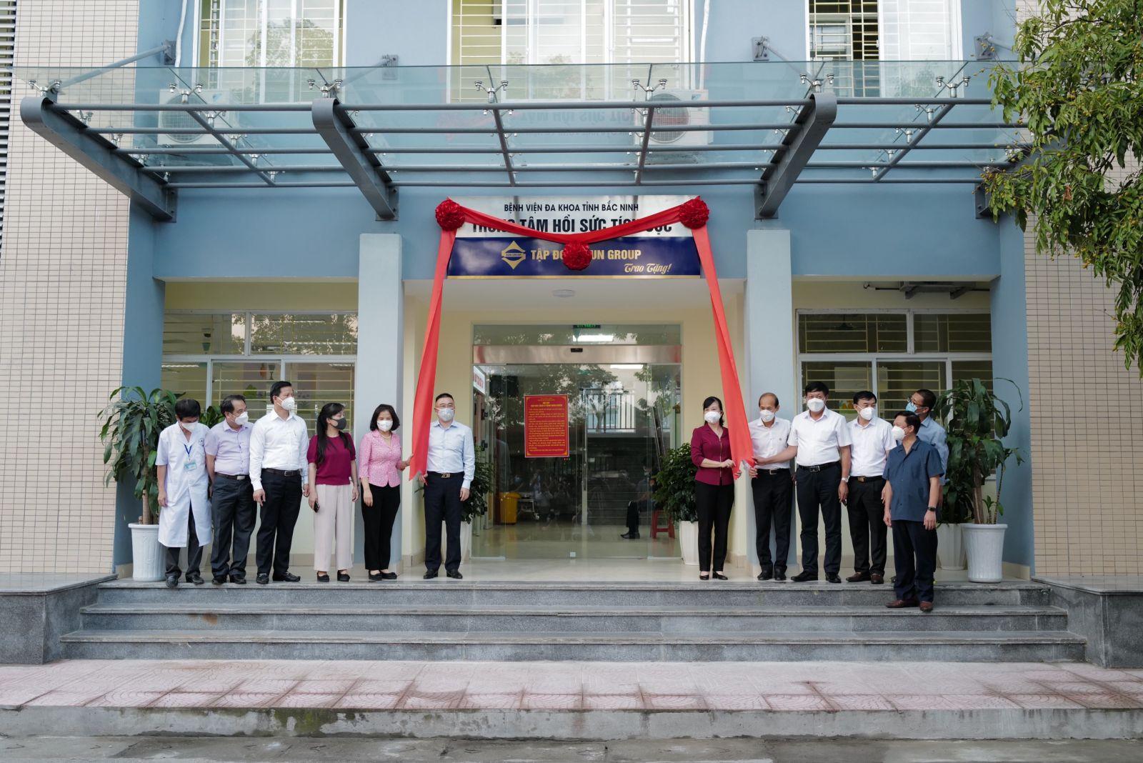 Sự kiện bàn giao ICU cho Bắc Ninh