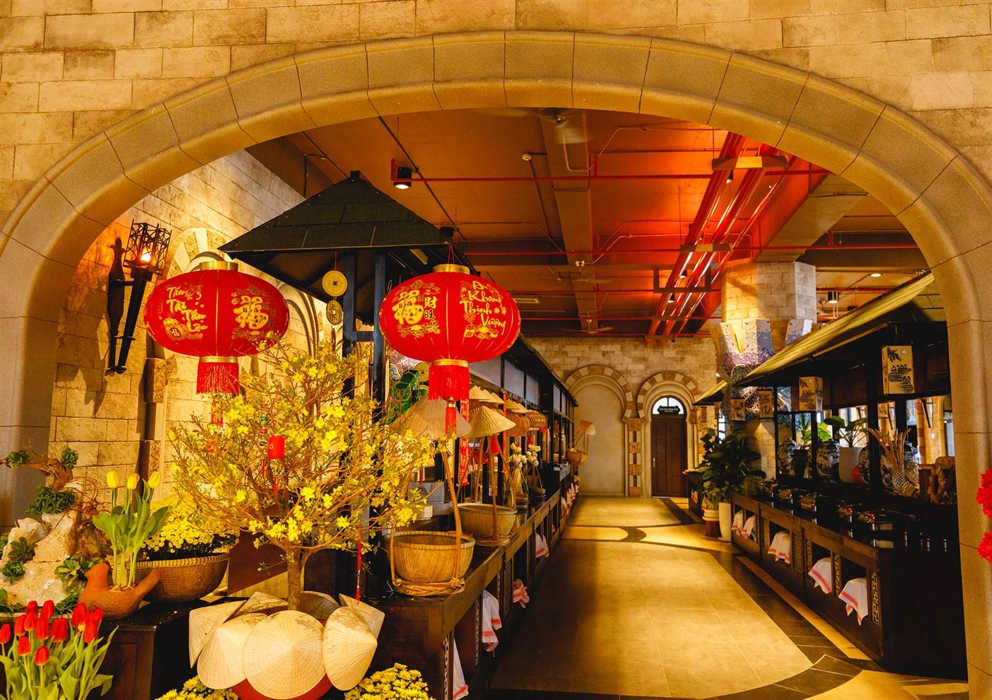 Nhà hàng buffet Vân Sơn