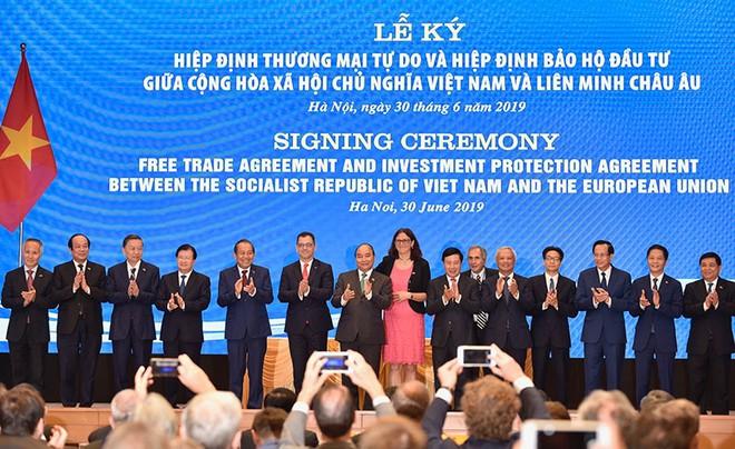 Việt Nam và EU đã ký Hiệp định EVFTA vào 30/6/2019.