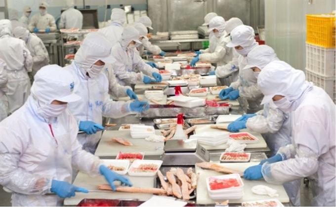 Lợi nhuận của Thuỷ sản Nam Việt giảm mạnh trong quý 2.