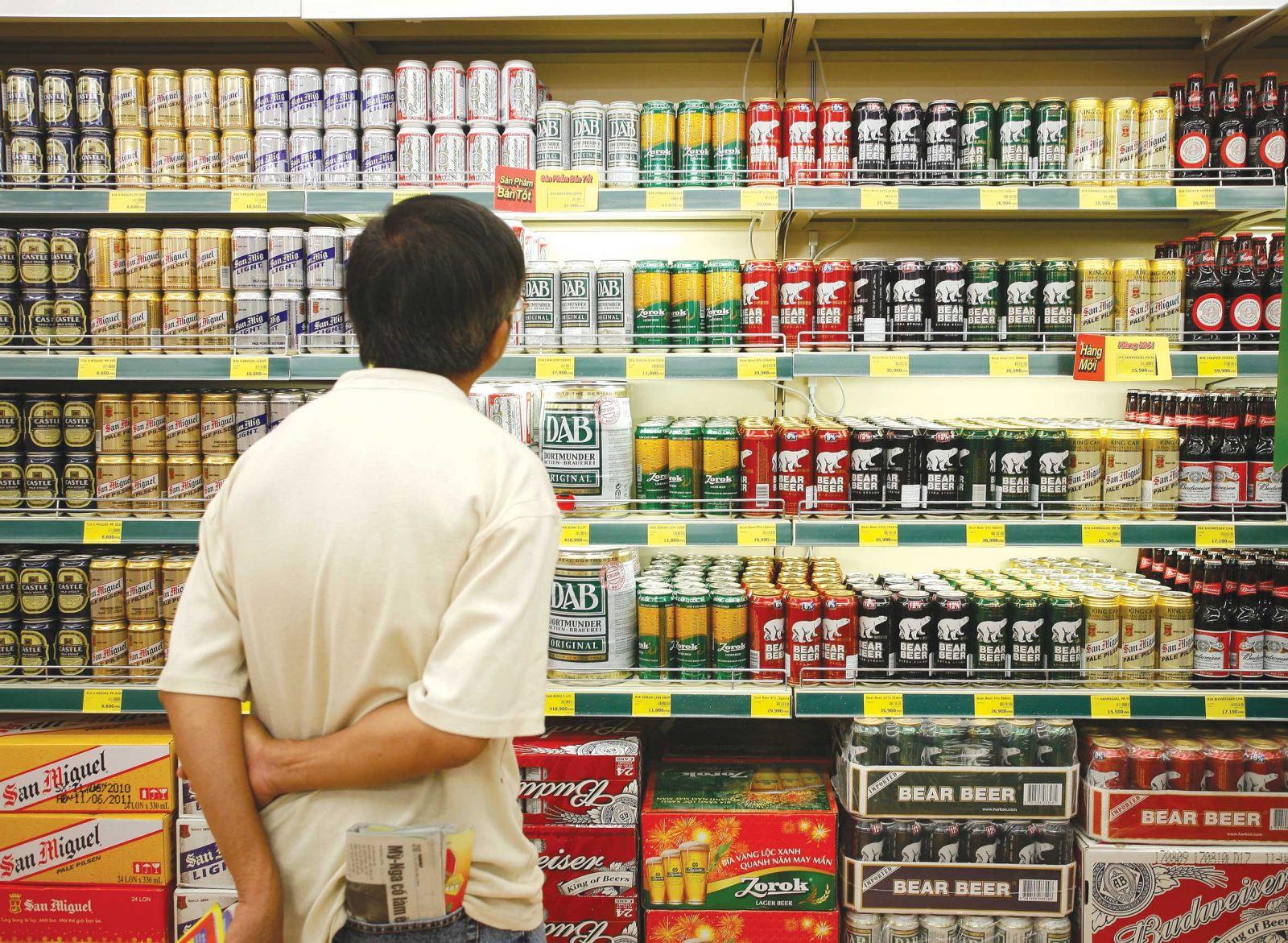 Dịch Covid-19 khiến gần 64% khách hàng cắt giảm chi tiêu bia, rượu