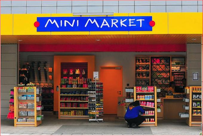 Mô hình siêu thị mini đang thể hiện ưu thế.
