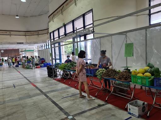 Trung tâm Xúc tiến thương mại thuộc Bộ Nông nghiệp và Phát triển nông thôn được trưng dụng địa điểm làm nơi tập kết nông sản, hàng hóa thiết yếu