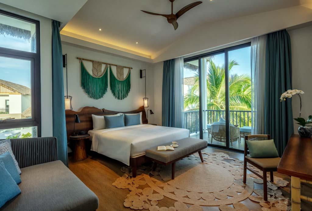 Bên trong villa New World Phu Quoc Resort được bài trí thanh nhã