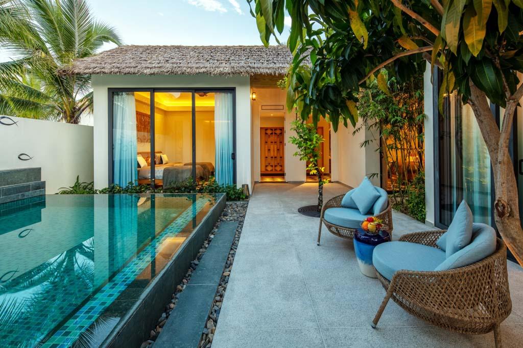 New World Phu Quoc Resort được thiết kế theo phong cách làng biển độc đáo