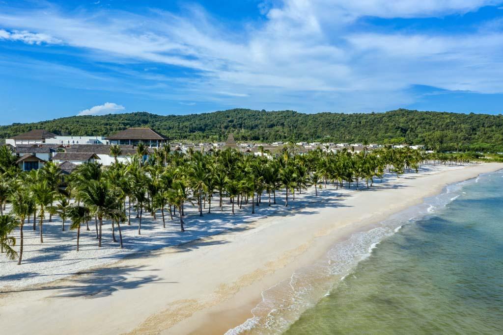 New World Phu Quoc Resort có vị trí đắc địa bên bãi Kem, Nam Phú Quốc