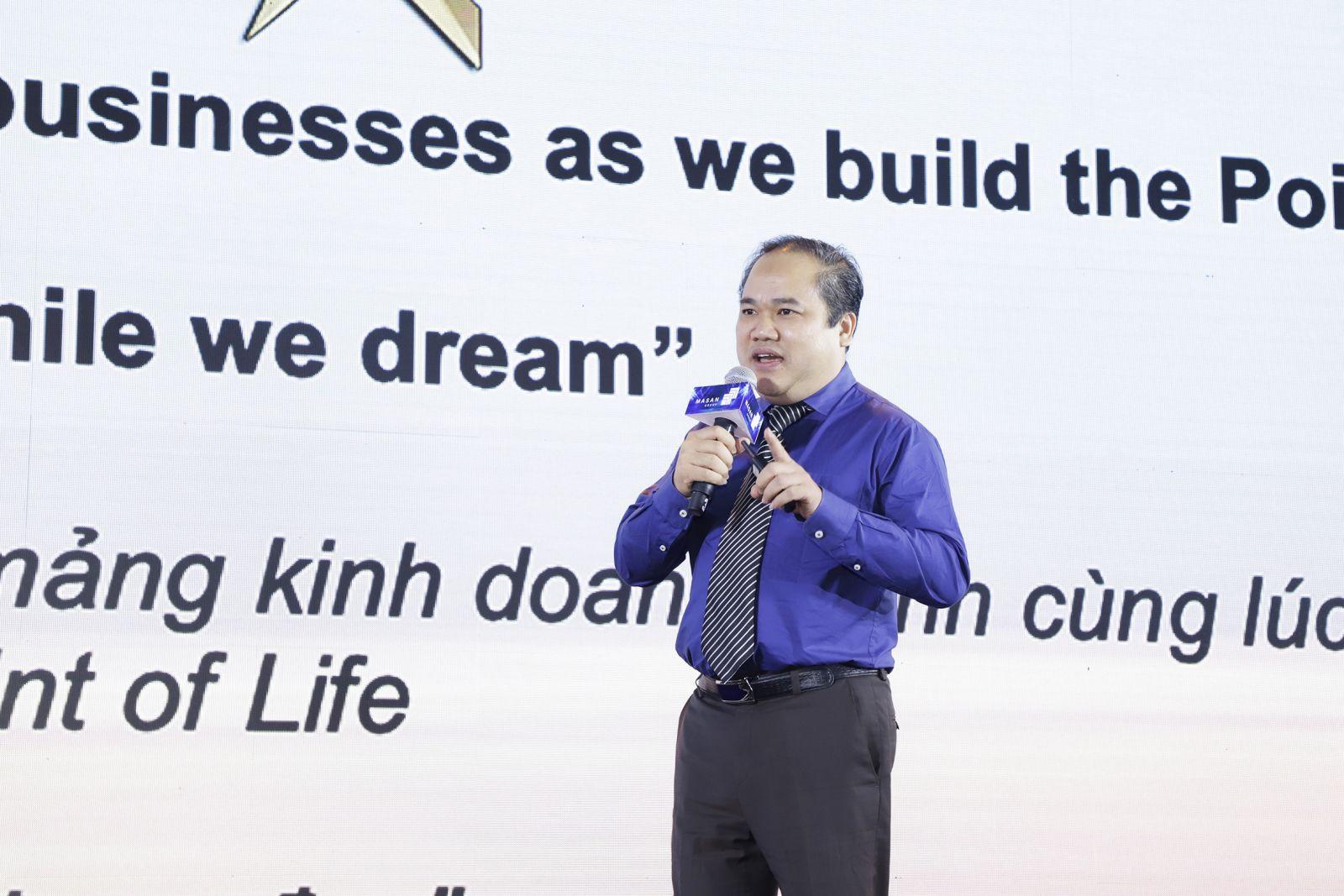 Ông Trương Công Thắng  - Tổng Giám đốc của Công ty Cổ phần The CrownX