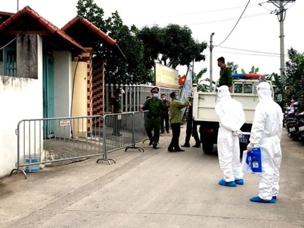 Phong tỏa cách ly y tế tại 4 thôn của xã Kim Sơn, huyện Gia Lâm, TP Hà Nội