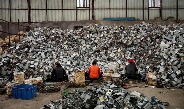 xử lý rác thải nhựa và điện tử