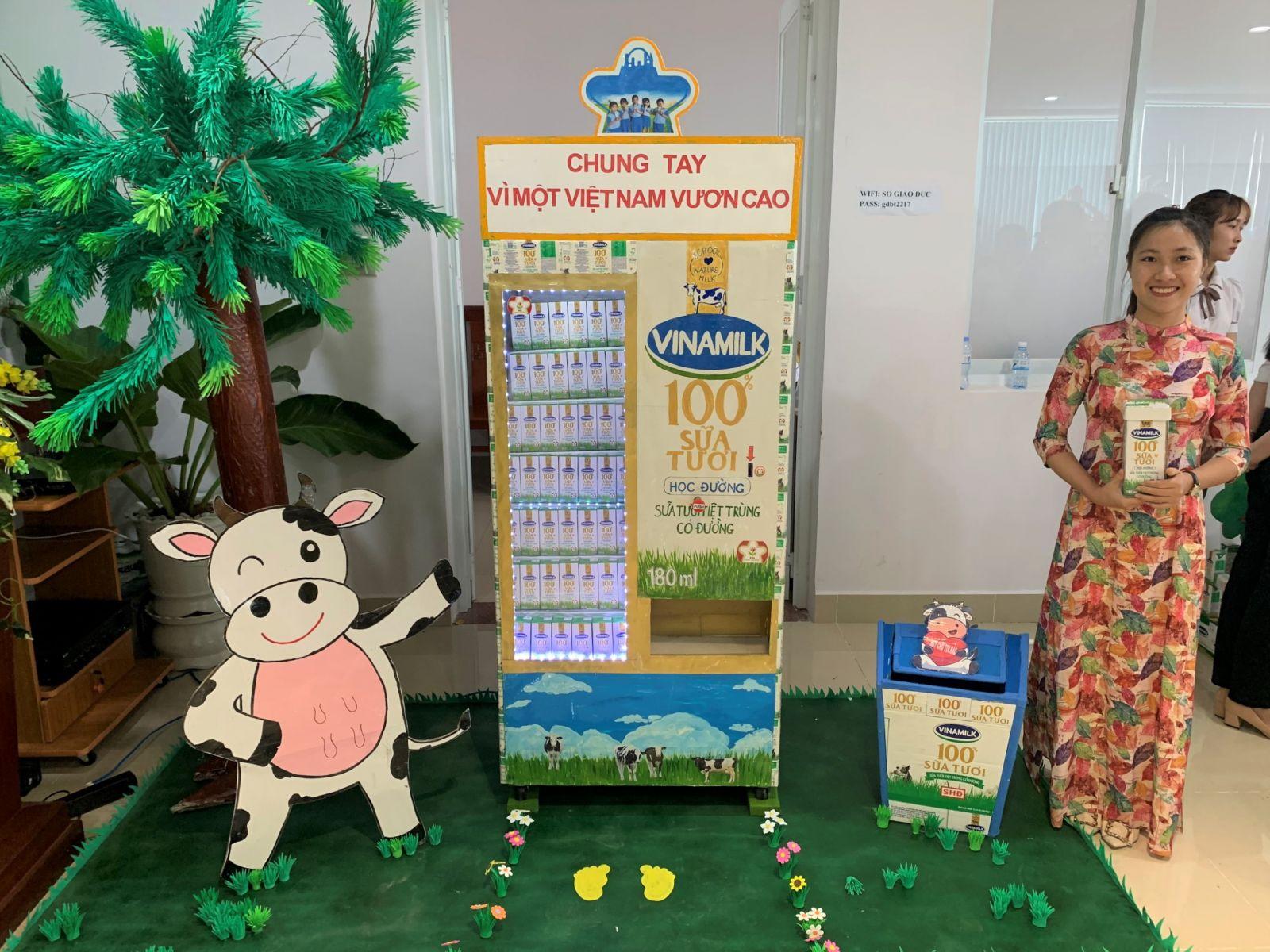 """Một số mô hình độc đáo khác đạt giải cao từ cuộc thi """"Sáng tạo cùng chương trình Sữa học đường"""""""