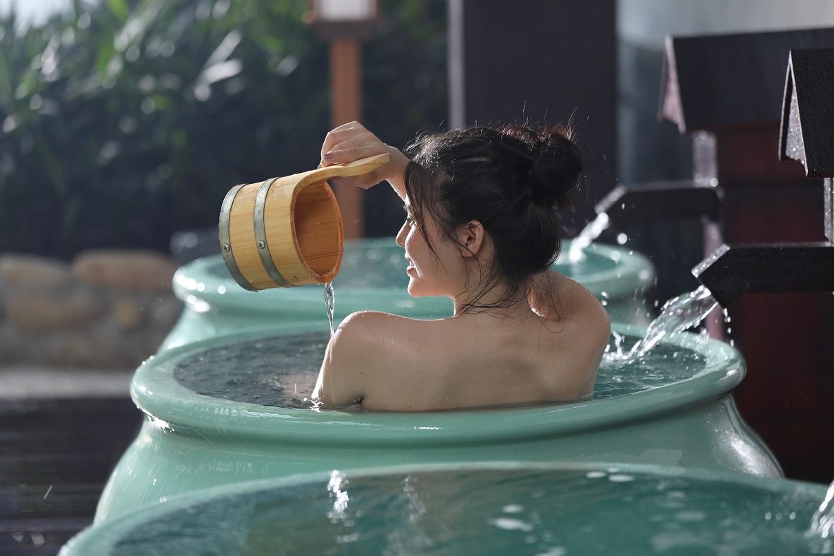 Tắm khoáng nóng đã trở thành một văn hóa, một lối sống của người Nhật