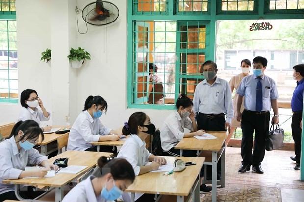 Bộ GD&ĐT cho biết sẽ thành lập các đoàn thanh, kiểm tra đột xuất tất cả các khâu của kỳ thi