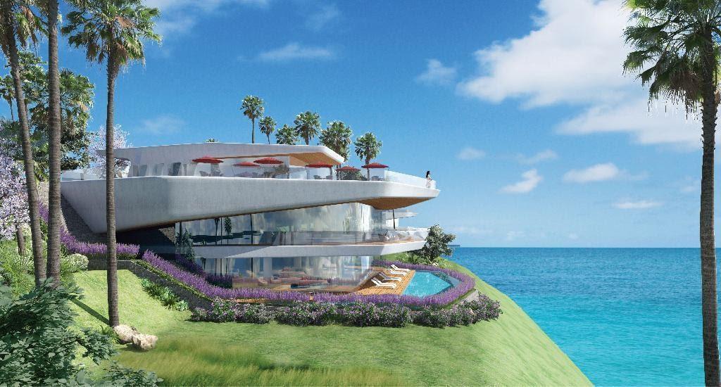 Thiết kế kiến trúc của Sunshine Heritage, khai thác lợi thế thiên nhiên, khí hậu đặc trưng của vùng biển trở thành điểm thu hút du khách