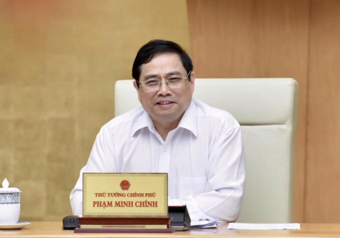 Thủ tướng Chính phủ Phạm Minh Chính. Ảnh NHNN
