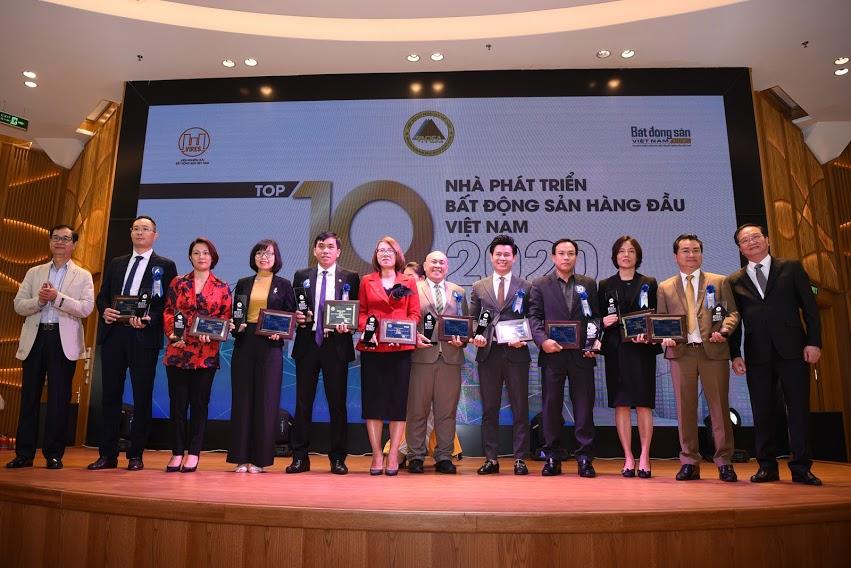 Đại diện Top 10 Nhà phát triển bất động sản hàng đầu Việt Nam