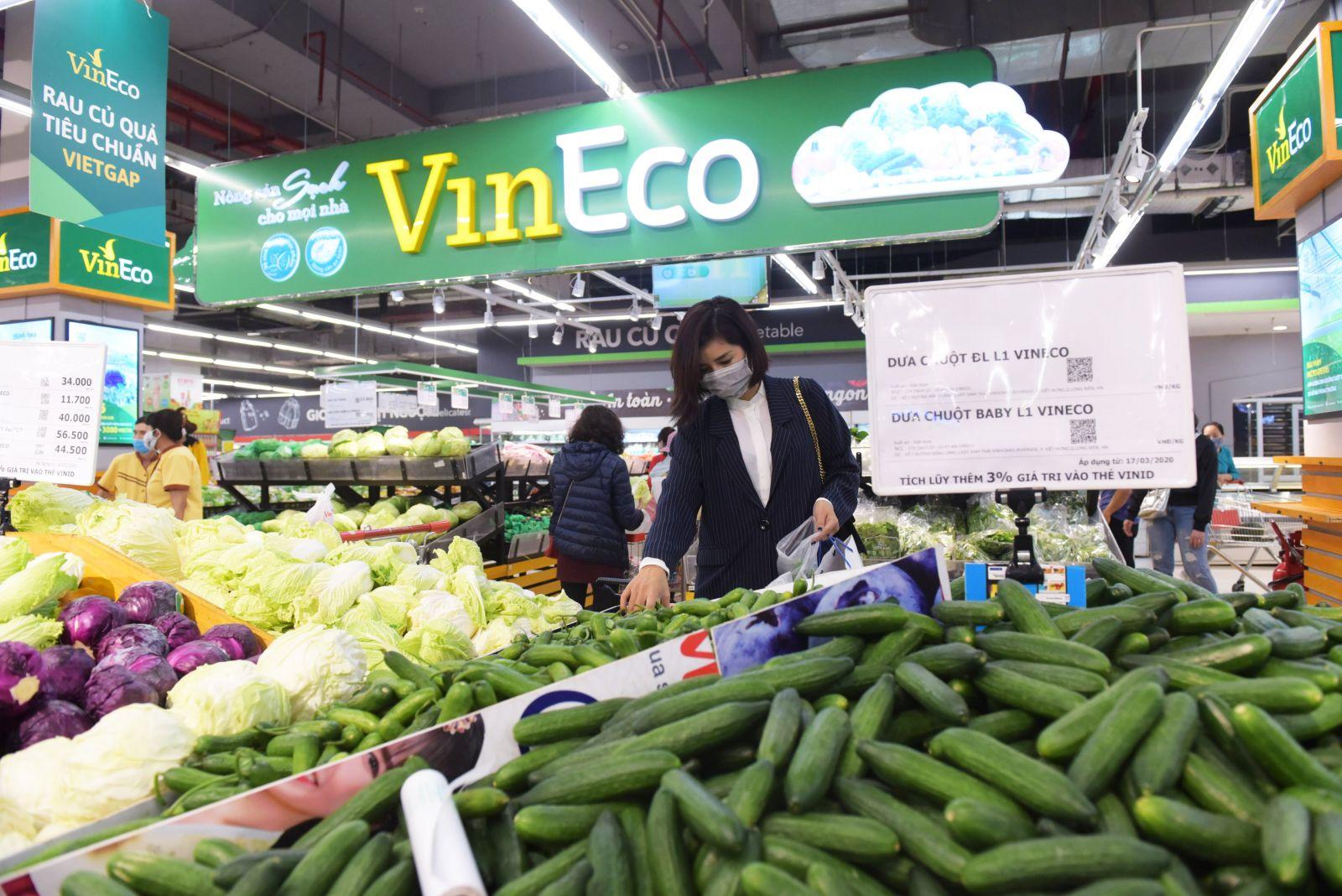 VinMart/VinMart+ đảm bảo cung ứng hàng hóa, thực hiện nhiều giải pháp hỗ trợ tiêu thụ nông sản nội địa