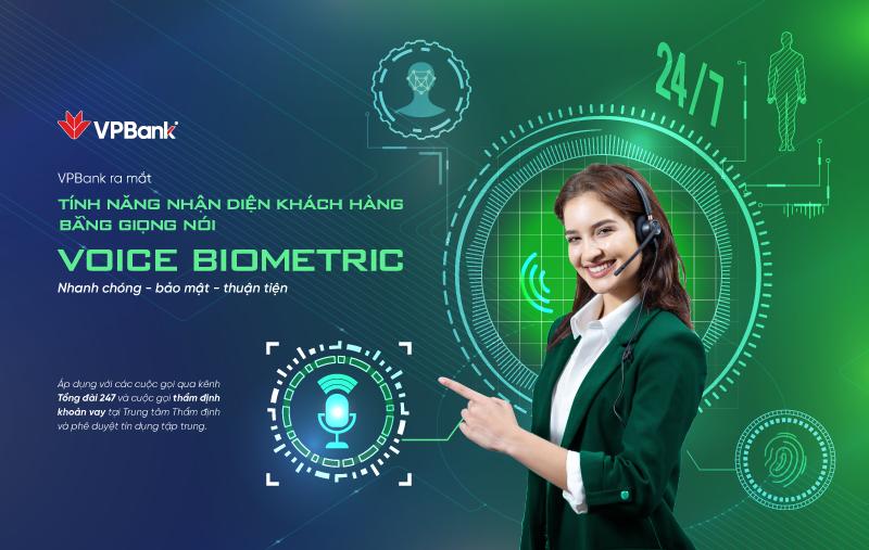 VPBank nhận diện bằng giọng nói (Voice Biometrics)