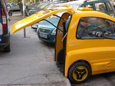 Ôtô điện Kenguru. Ảnh: Kenguru