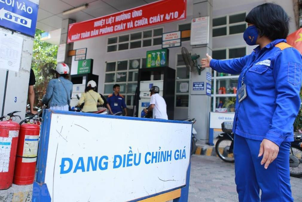 Giá xăng dầu trong nước