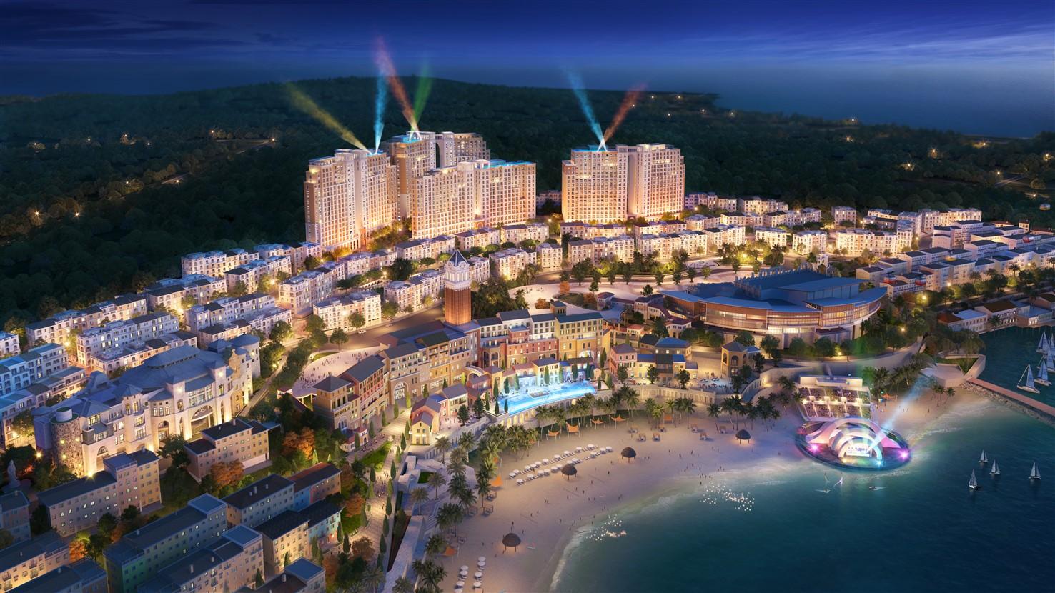 Thế giới lễ hội sôi động sẽ diễn ra tại các công trình kiến trúc đẳng cấp ở Nam Phú Quốc