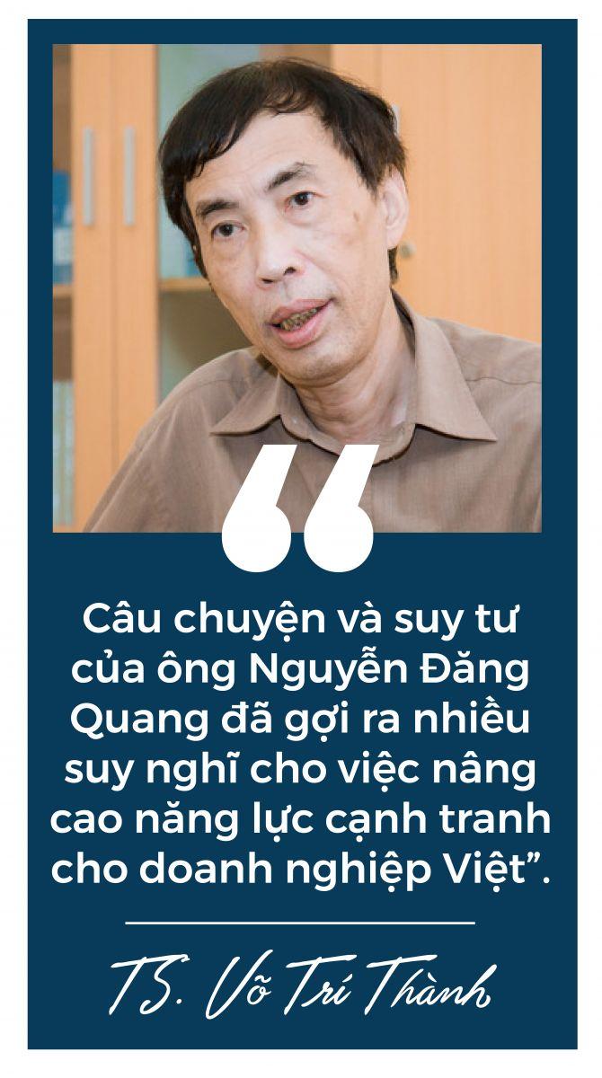 Masan - Nguyễn Đăng Quang TS Võ Trí Thành