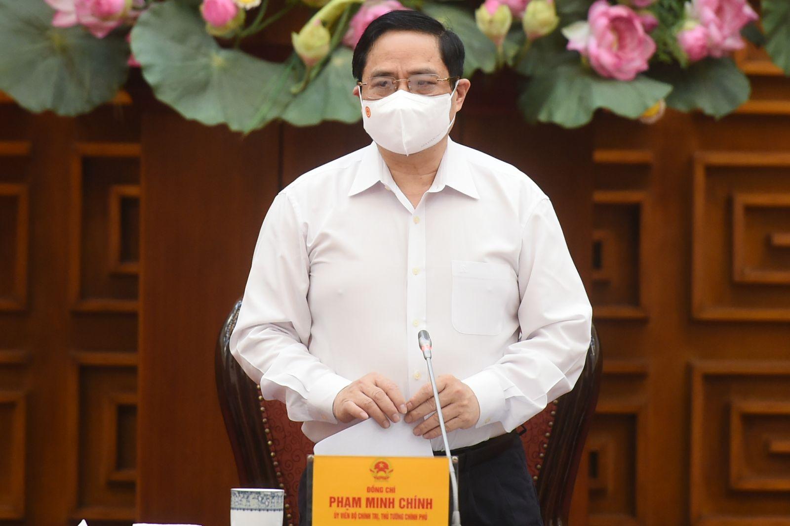 Thủ tướng Phạm Minh Chính. Ảnh: Báo Chính phủ
