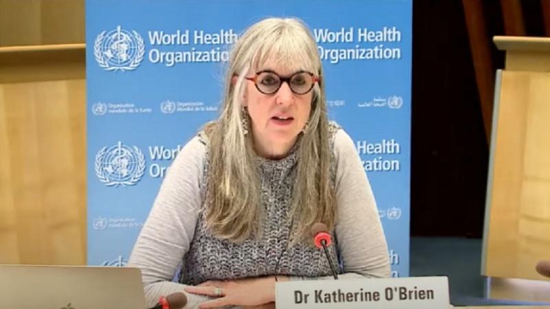 Giám đốc vaccine của WHO Kate O'Brien.