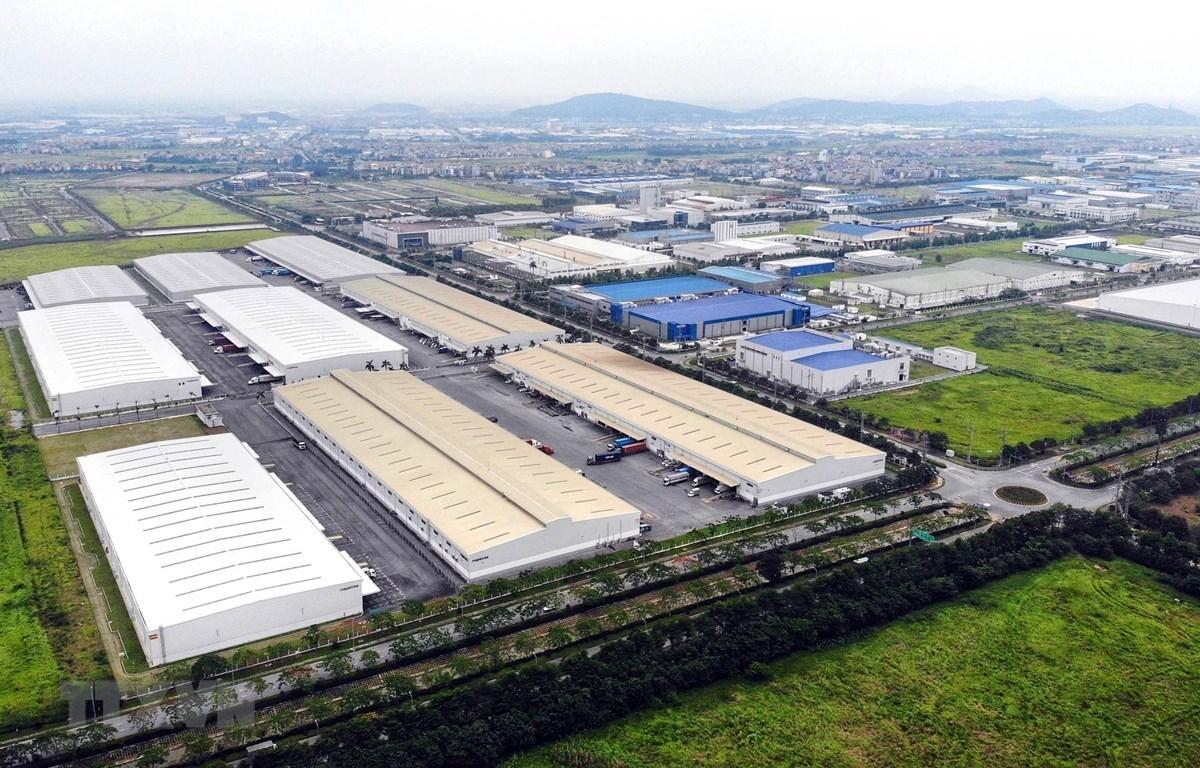 """Bất động sản công nghiệp được xem là """"điểm sáng"""" nhất trên thị trường Việt Nam."""