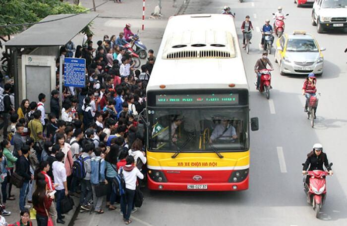 Sở Giao thông Vận tải Hà Nội đề xuất xe buýt được hoạt động với 50% biểu đồ chạy xe đã được phê duyệt