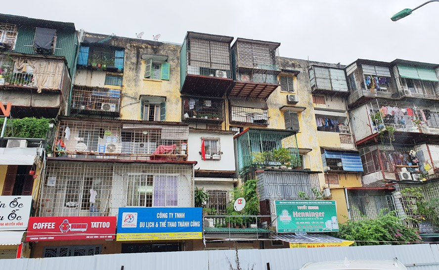 Hà Nội: Tập trung nguồn lực xây dựng, cải tạo chung cư cũ