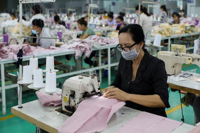 65,3% doanh nghiệp dệt may ngừng hoạt động trong tháng 9.