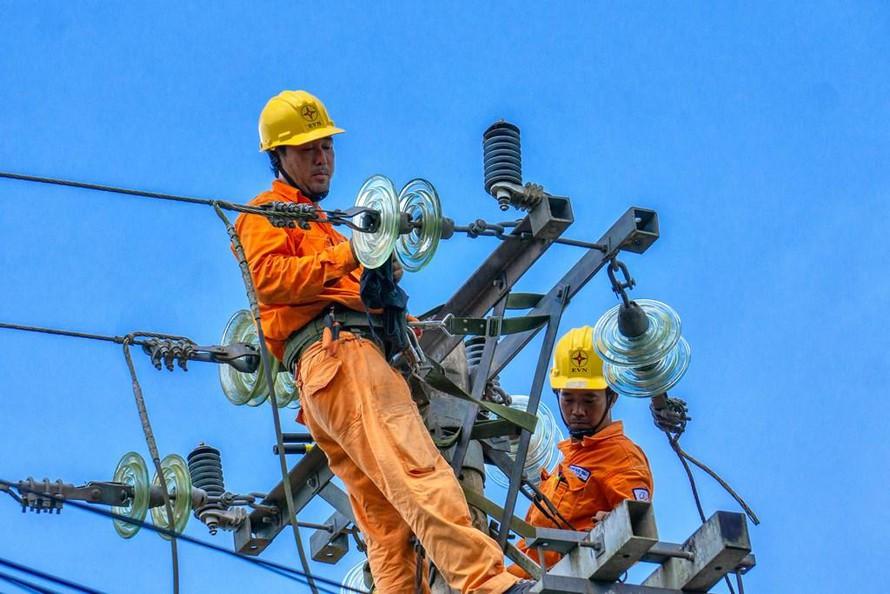 tiêu thụ điện
