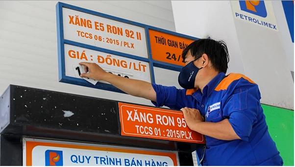 Giá xăng (12/5) tiếp tục tăng giá từ 15h