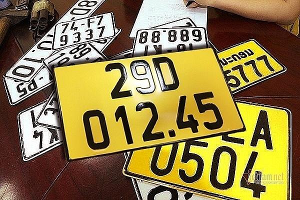 Từ 01/03, địa chỉ đăng kí xe của 4 quận nội thành Hà Nội thay đổi