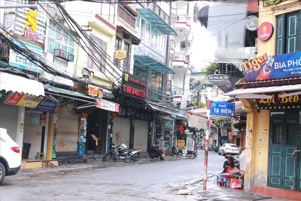 Hà Nội tạm dừng hoạt động quán ăn đường phố, trà đá, cà phê vỉa hè từ 17 giờ ngày 3/5