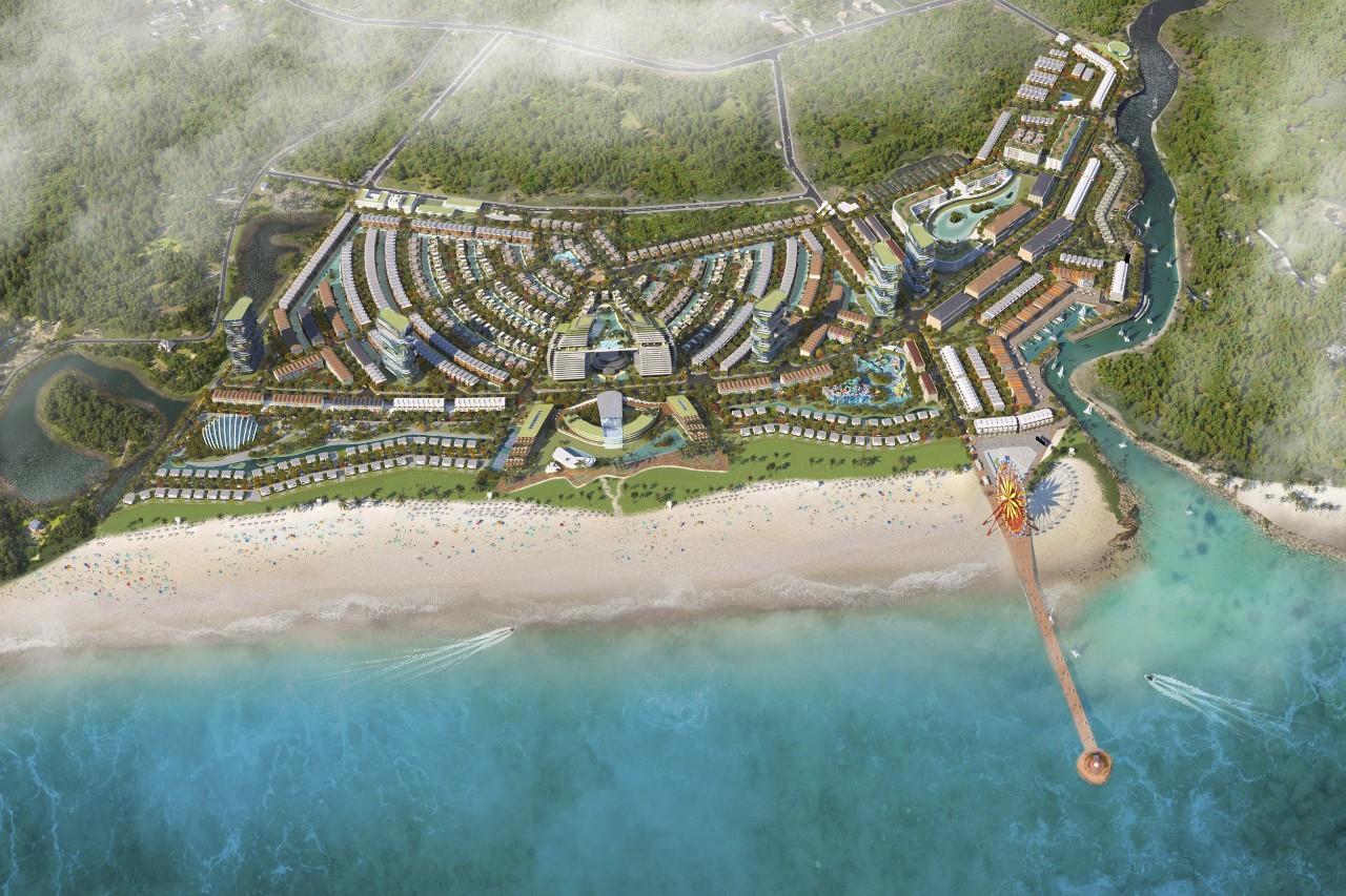Trục đường ven biển nối từ Vũng Tàu đến Phan Thiết, kết nối hai thủ phủ resort phía nam là Hồ Tràm – Bình Châu và Phan Thiết, tạo ra sức hút phát triển du lịch, chuỗi đô thị, resort ven biển.
