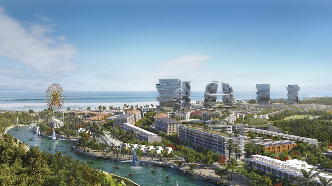 Tham gia vào thị trường sôi động ở cung đường du lịch Hồ Tràm – Bình Châu, dự án Venezia Beach - Luxury Residences & Resort quy mô 72ha sắp ra mắt thị trường