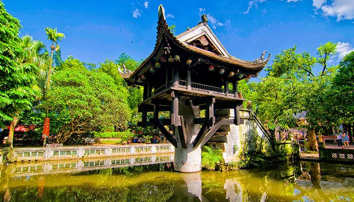 Thống kê 6 tháng đầu năm 2021, khách du lịch đến Hà Nội giảm 25% (Ảnh: Internet)