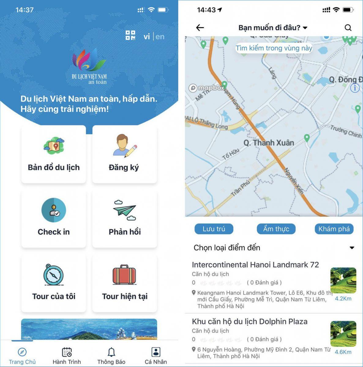 """Tổng cục Du lịch đã đưa vào sử dụng ứng dụng """"Du lịch Việt Nam an toàn"""" để góp phần triển khai hiệu quả chương trình kích cầu du lịch giai đoạn 2"""