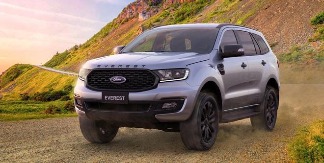 Ford Everest Sport được ra mắt Việt Nam, giá 1,112 tỷ đồng