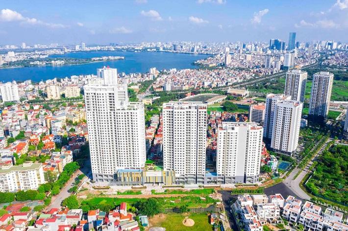 Nhiều nguyên nhân khiến giá bất động sản khó giảm dù dịch Covid-19 bùng phát trở lại.