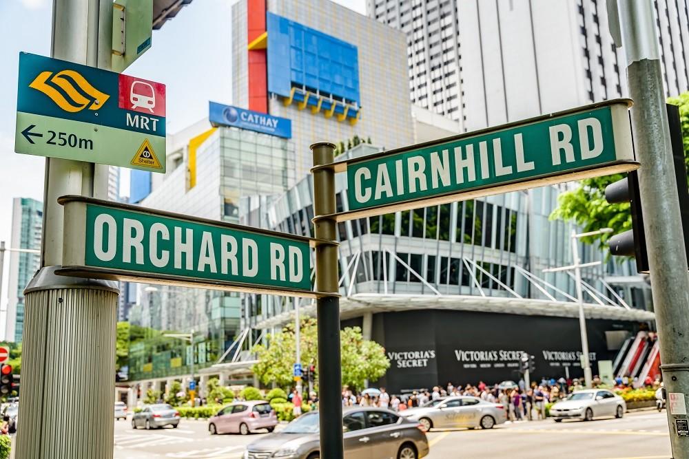 Những đại lộ nổi tiếng như Orchard Road là điểm không thể không đến với du khách