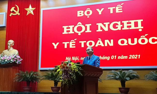 Thủ tướng Nguyễn Xuân Phúc nhấn mạnh, phải xử lý nghiêm, từ hành chính đến hình sự những cá nhân, tổ chức vi phạm quy định phòng chống dịch Covid-19.